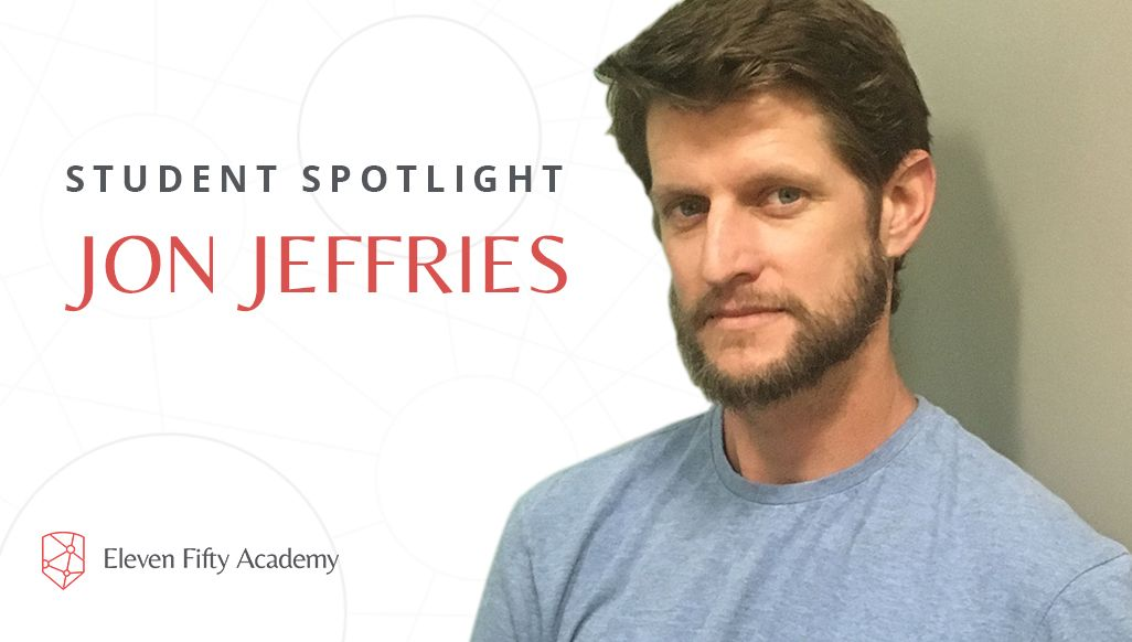 Student Spotlight: Jon Jeffries